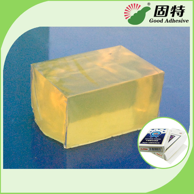 Synthetic Polymer Resin Box Sealing Hot Melt Glue For High - Grade Box Positioning