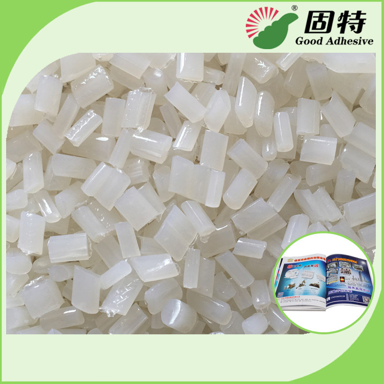 Eva Adhesive Hot Melt Glue For Bookbinding & Album For Laminated Cover Bookbinding Good Viscosity