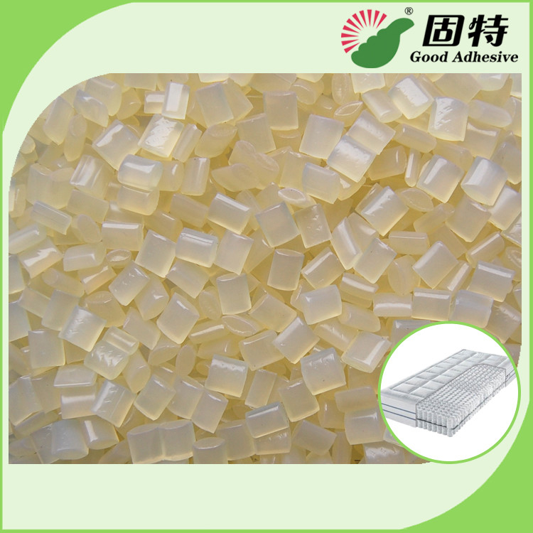 SBS Hot Melt Adhesive Pellets for Layers Coating of Fabric Sponge Non-woven Foam EVA Materials in Mattress