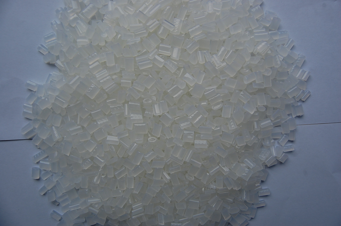 White Semi Transparent  Granule  Eva Hot Melt Adhesive For Notebook / Printing Industry
