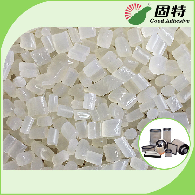 Semi White Transparent Hot Melt Adhesive Pellets EVA Resin For Air Filter